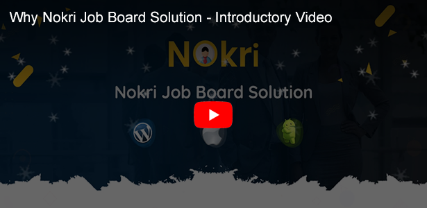 nokri job board solution introductory video