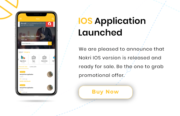 nokri ios application is available